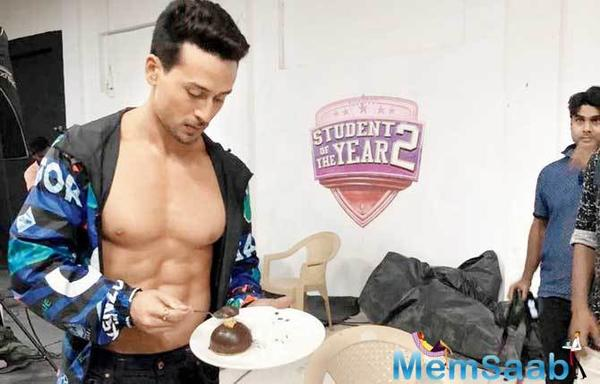 Tiger Shroff, Ananya Panday, Tara Sutaria spotted on the sets of Student Of The Year 2