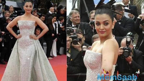 Aishwarya Rai Bachchan is raising the glamour quotient at her very own Cannes Film Festival, which she is attending for the 17th year in a row.