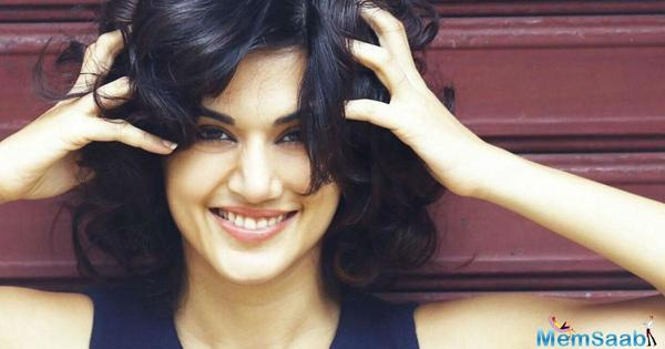 Taapsee Pannu reveals why she has never planned to enter the film industry