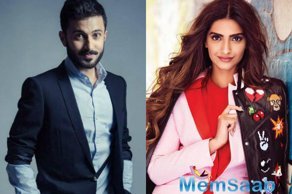 After her stylist appearance in cannes, The newlywed Sonam Kapoor Ahuja has begun work on her upcoming flick with Dulquer Salmaan