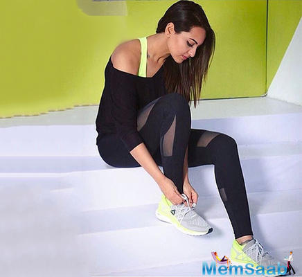 Sonakshi Sinha: I work towards challenging my body with everything I do