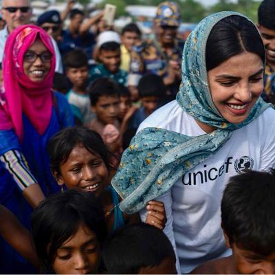 'They desperately need our help': Priyanka meets Rohingya refugee kids in Bangladesh