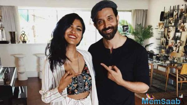 Bollywood heartthrob Hrithik Roshan recently confessed that he is a fan of Indo-American singer and YouTube sensation Vidya Vox. Hrithik on Tuesday shared a photograph of himself along with Vidya.