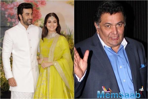 Rishi Kapoor's tweet triggers Alia Bhatt, Ranbir Kapoor's dating rumours again