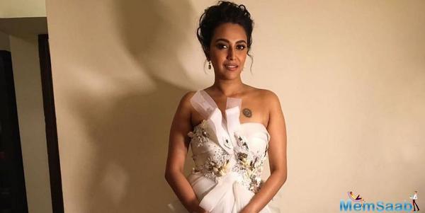 Swara Bhasker got trolled for her short white dress