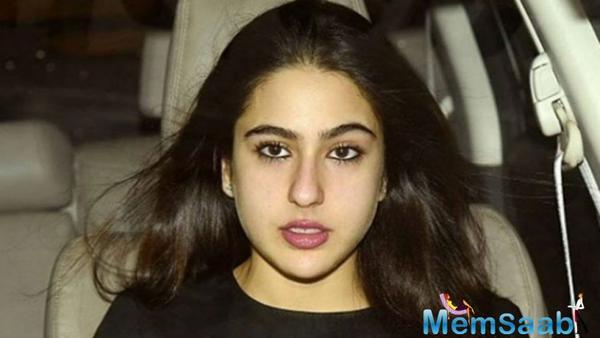 Film Producer takes Sara Ali Khan to court, over a dispute in dates for her debut film