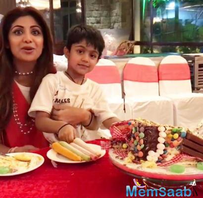It's a sugar-free birthday party for Shilpa Shetty Kundra's son