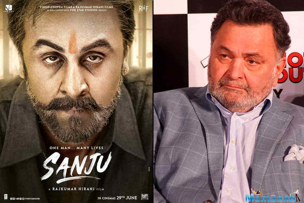 Rishi Kapoor is bursting with pride after watching Sanju trailer