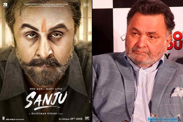 Rishi Kapoor is bursting with pride after watching Sanju trailer