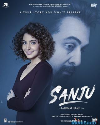 Sanju new poster: Anushka Sharma's look revealed; can you guess who she is?
