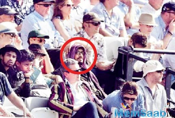 Irrfan Khan watches Eng-Pak test match; internet goes crazy seeing his pic