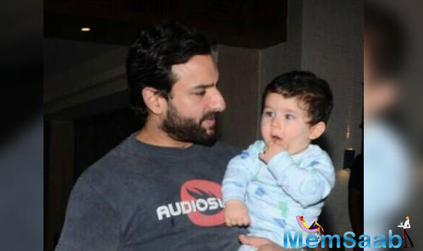 "Saif Ali Khan reveals that Taimur has started calling him ""Abba"""