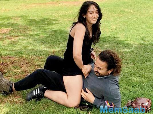 Netizens stoop to a new low as they troll Aamir Khan's picture with daughter Ira