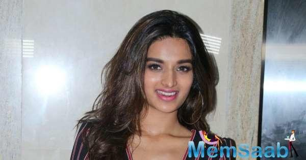 Nidhhi Agerwal is a former beauty queen. She was finalist at Miss Diva 2014.