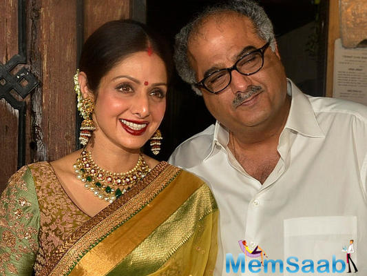Boney Kapoor to host an exhibition of Sridevi's paintings