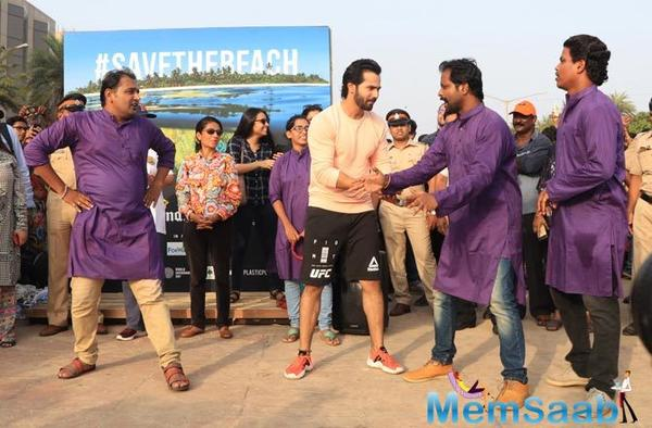 On the world environment day, Varun Dhawan calls for protection of the environment