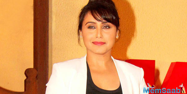 Rani Mukerji plays peacemaker