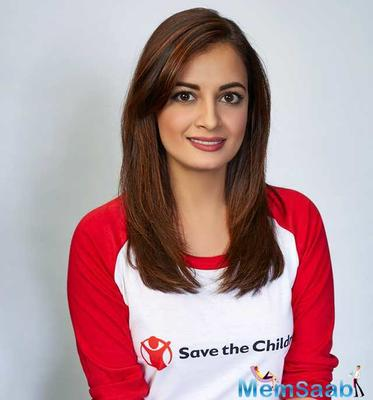 After a long gap, Dia Mirza returns to big screen as playing Manyata in Sanju