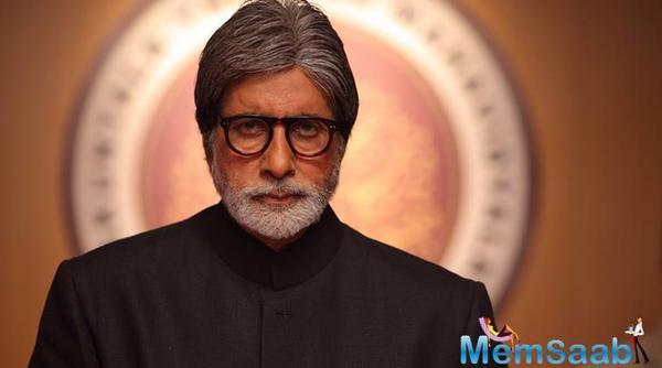 Amitabh Bachchan is finally away from prosthetics thanks to Badla