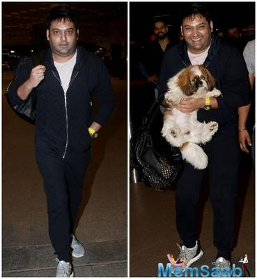 Welcome back Kapil Sharma! Look who finally managed to bring a smile on his face