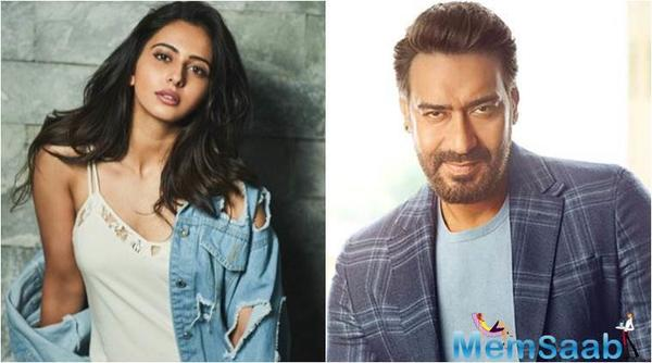 Rakul Preet Singh's film with Ajay Devgn is 50 per cent complete