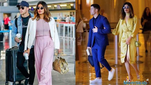 Priyanka Chopra and beau Nick Jonas arrive in India