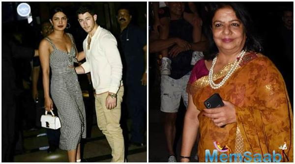 Priyanka's mother Madhu says she has met Nick Jonas but it's too early to have an opinion