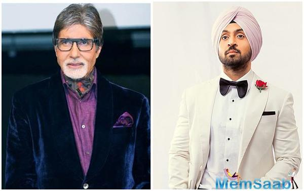 Amitabh Bachchan is an admirer of Diljit Dosanjh