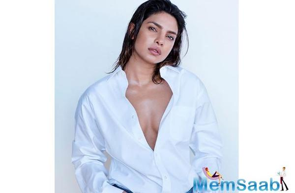 Priyanka looks like a dream in an all-white avatar on a magazine cover. The global star, who features on the cover of Maxim, has been named the magazine's choice for