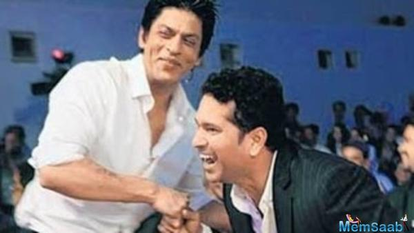Taking to Instagram, Tendulkar on Monday shared a selfie with the 'Raees' star with a quirky caption that read,