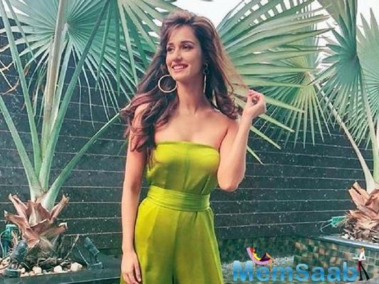 Disha Patani shares her creation as Instastory