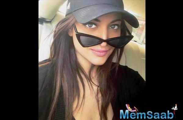 There's something different about Sonakshi Sinha!