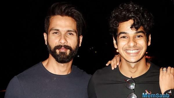 Ishaan Khatter: Will always discuss with Shahid before I sign a film