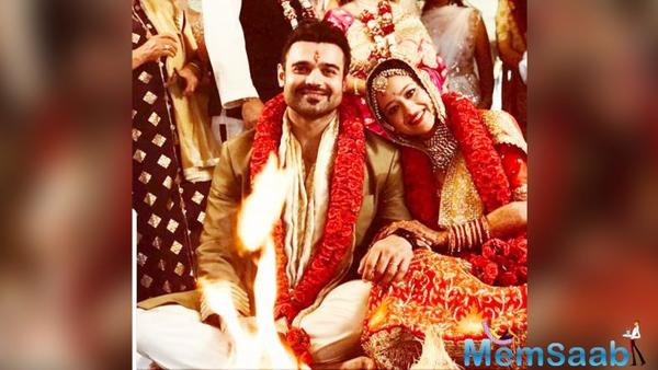 Mahaakshay Chakraborty aka Mimoh out on bail gets married to Madalsa Sharma