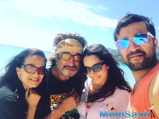 German getaway for Shraddha Kapoor and family