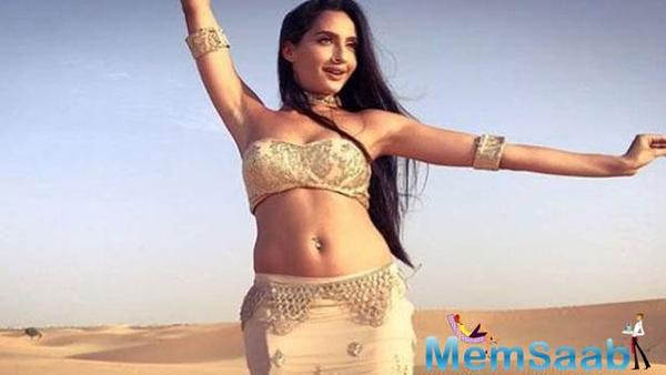 Nora Fatehi on acing belly dance: I was my own teacher