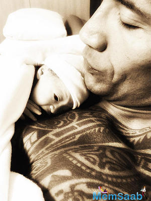 """Dwayne Johnson: """"My daughter's birth changed the way I look at women"""""""