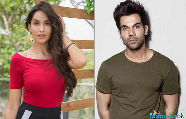 Nora Fatehi, after sizzling in Dilbar, to groove With Rajkummar Rao in Stree!