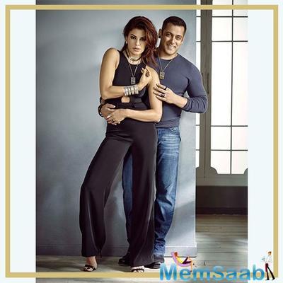 Salman Khan, Jacqueline Fernandez spotted chilling in Dubai