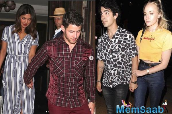 See pics, Priyanka Chopra, Nick Jonas on double date