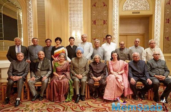 First Look of Anupam Kher starrer the accidental Prime Minister released
