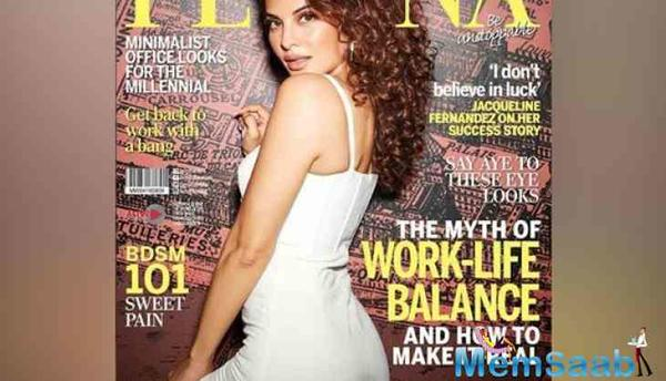 Jacqueline Fernandez stuns in new magazine cover