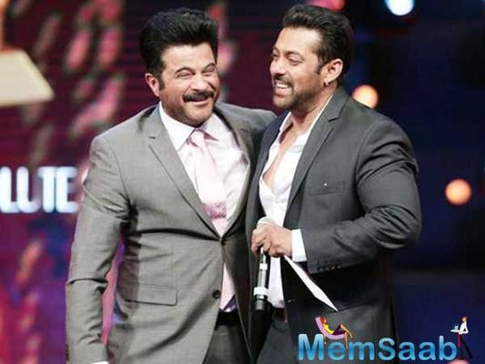 Salman Khan: Anil Kapoor is one of the most generous actors I've ever worked with