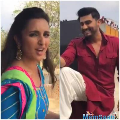 Arjun Kapoor and Parineeti Chopra's friendly banter