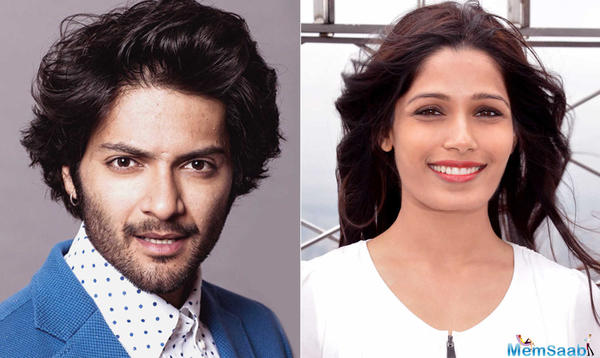 The two pioneering young names from India excelling in the west, Ali Fazal and Freida Pinto are now coming together!