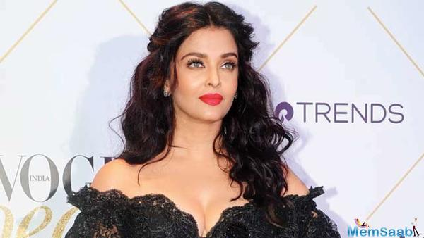 Aish strikes a intense pose in new magazine cover