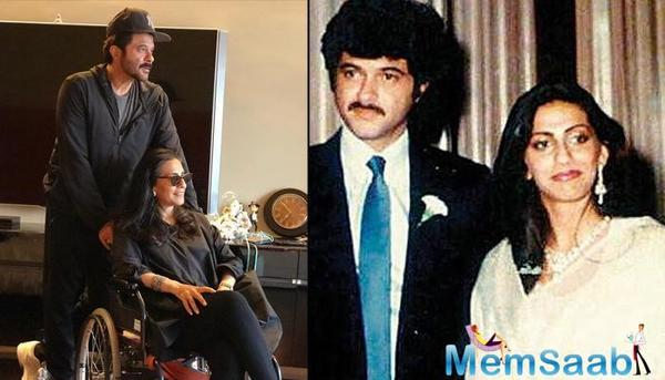 Anil Kapoor has completed 45 years of marriage with wife Sunita Kapoor.