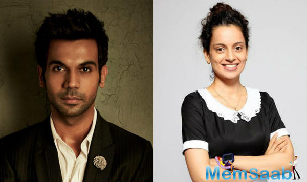 """The actor is all praise for his firebrand co-star. """"Kangana is a thinking actor. She always takes every character of hers very seriously."""