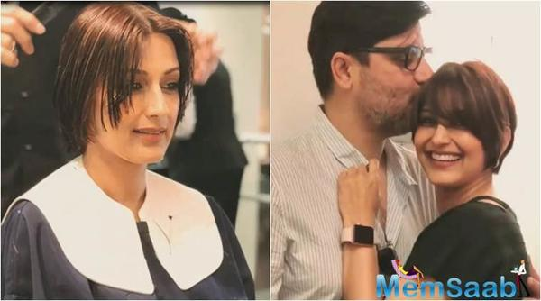 Hubby Goldie Behl: Sonali Bendre is stable