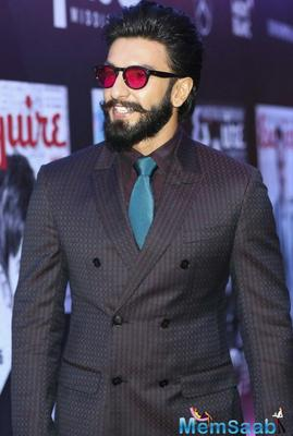 Ranveer Singh calls Simmba his biggest film, forgot Sanjay Leela Bhansali so easily?